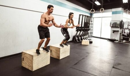 Total Gym Full Body Workout Routine - Box Squat Jump