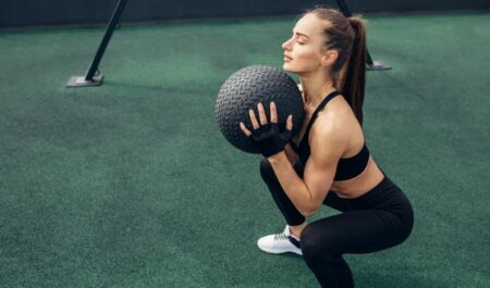 Total Gym Full Body Workout Routine - medicine ball