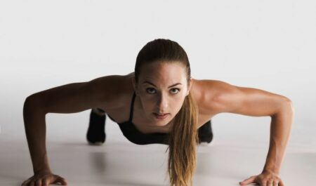 Is It Harder For Women To Lose Weight - Push-Ups