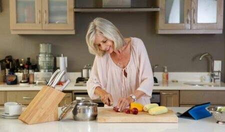 Attractive Women Over 60 - Light Foods for age of 60s