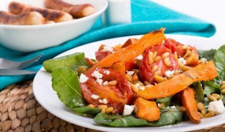 All Day Fat Burning Diet -Roasted Pumpkin Salad