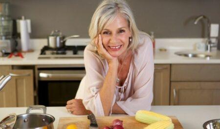 Attractive Women Over 60 - age of 60 Women