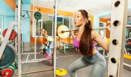 How To Lose Inner Thigh Fat - Barbell Squat