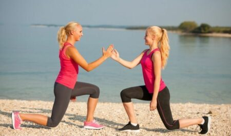 How To Lose Inner Thigh Fat - Bodyweight Lunges