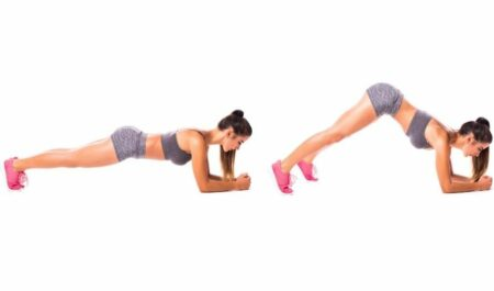 No Equipment Arm Workouts - Inchworm Exercises