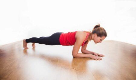 No Equipment Arm Workouts - Plank Jack Exercises