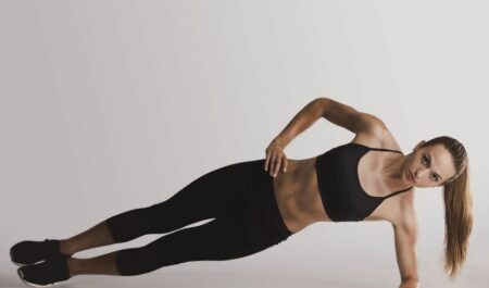 No Equipment Arm Workouts - Side Plank