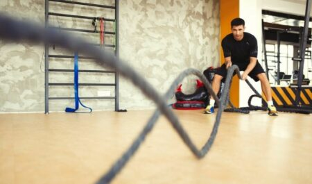 Battle Rope Exercises - battle rope beginners