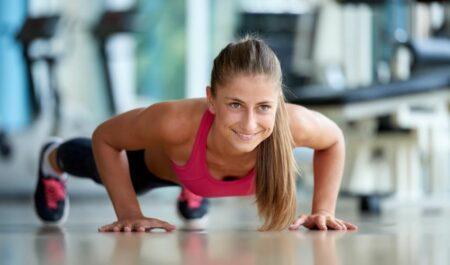 No Equipment Arm Workouts - push ups