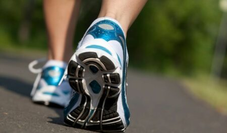 Lose Weight Walking 2 Miles a Day - walking shoes