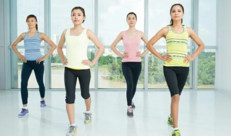 Aerobic Dance Exercise - Jogging aerobic exercise