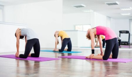 Yoga Poses For Weight Loss - Yoga Camel Pose