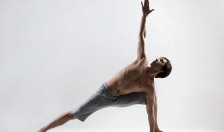 Yoga Poses For Weight Loss - side angle yoga pose