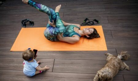 Post Pregnancy Workouts - mother exercises