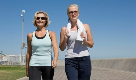 Weight Loss Supplements For Women Over 40 - walking