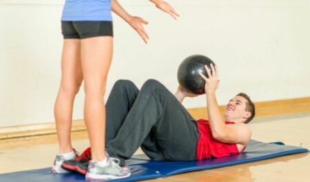 Medicine Ball Ab Workout - Medicine Ball Workout