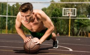 how to do push ups by medicine ball