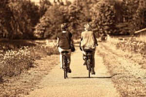 5 types of physical activity - daily cycling