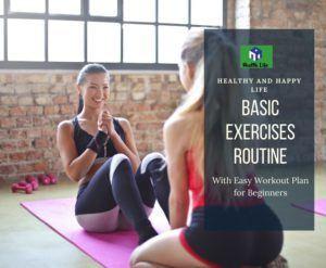 Basic Exercises Routine For Women