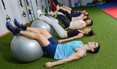 Deadlift For Abs - Stability Ball Exercise
