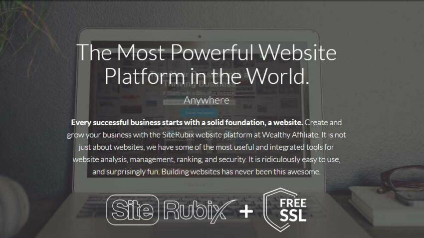 Wealthy Affiliate Webhosting with SiteRubix