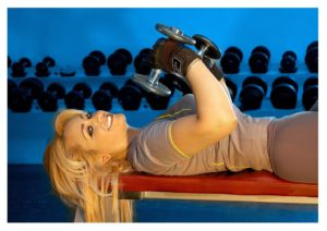 How To Lose Arm Fat With Dumbbells - dumbbell workout program for women