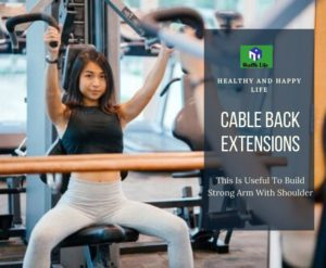 Back Exercise With Dumbbells