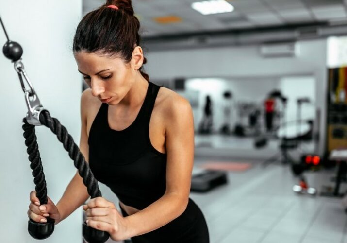 Cable Chest Workout Routine-  for a Strong and back For Woman