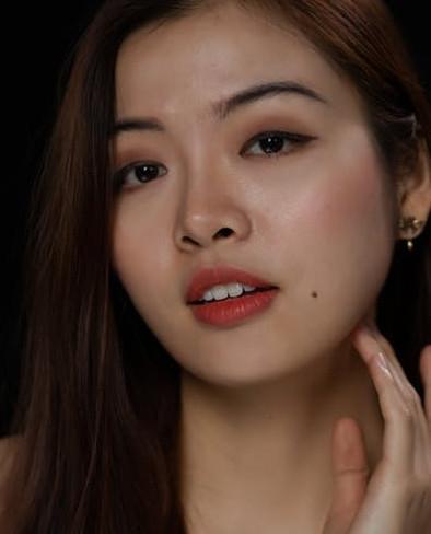 beautiful light skin women - natural glow face skin