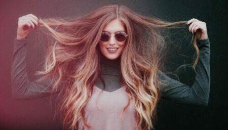 healthy relaxed hair - long thin hair