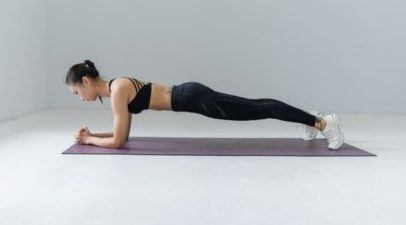 Yoga Abdominal Exercise - both the upper and lower body strength exercise