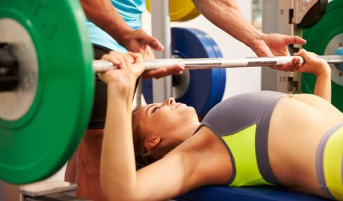 5 Day Workout Routine - Bench Press workouts for women