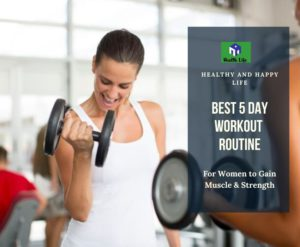5 Day Workout Routine