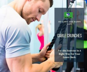 Cable Crunches for Abs