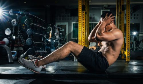 Cable crunches for Abs - Crunch Exercise