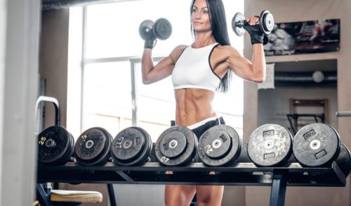 Chest and Shoulder Workout - Shoulder exercise for women