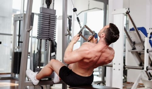 Cable Overhead Triceps Extension - Strong Arm muscles