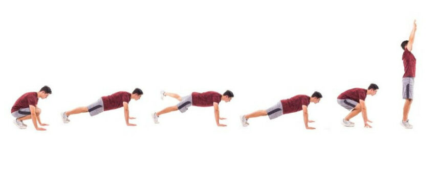 Top 8 Burpees For Men