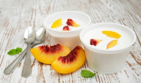 Does Yogurt Cause Gas And Bloating - yogurt with fruits