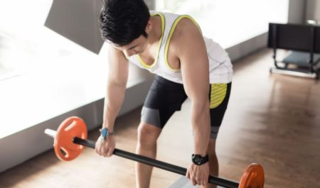 Barbell Row - Barbell upright row