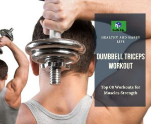 Dumbbell Triceps Workout