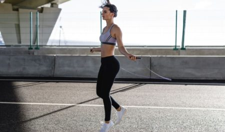 Crossfit Tabata - Jump Rope Exercises