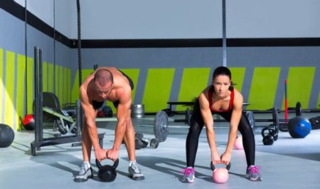 Crossfit Tabata - Kettlebell Swings workout