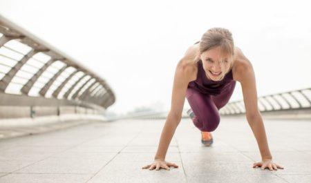 Crossfit Tabata - Mountain Climber Exercise