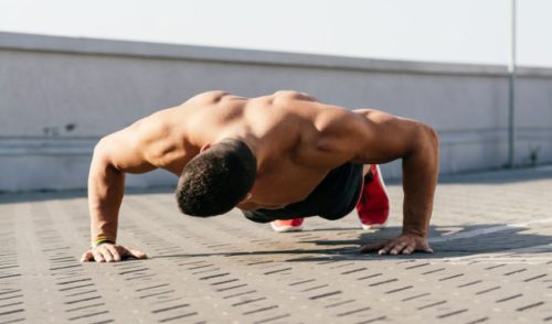 Full Body Workout Plan - Push up Training