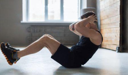 Tabata Workout Plan - Sit Ups workout