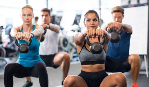 Full Body Workout Plan - Squat Variation