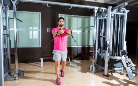 Cable Lateral Raise Workouts - Standing Cable exercise