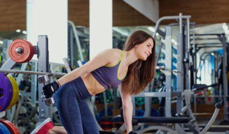 Dumbbell Tricep Workout - dumbbell Single Arm Kickback Exercise