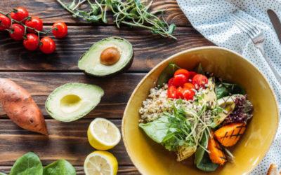 Is An Avocado A Fruit - garden salad with avocado